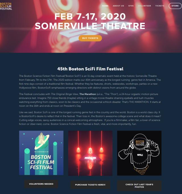 SF45 - Website